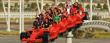 roller coaster abu dhabi speed record breaking roller coaster what s on