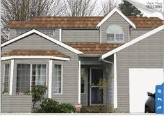 Grey House Paint by Top 25 Best Brown Roofs Ideas On Pinterest Exterior House Paint