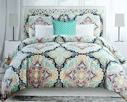 Paisley Pop Duvet Cover Bedding Set Amazing Bohemian Bedding Queen Pink Purple And