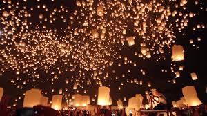 Festival Of Lights Thailand Yi Peng Festival Chiang Mai Thailand Youtube