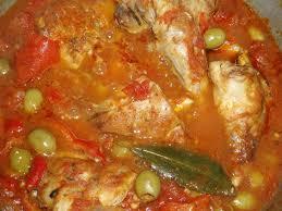 cuisiner le lapin en sauce recette de cuisses de lapin à la sauce tomates et aux olives les