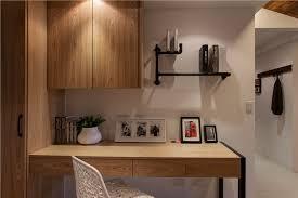 mod鑞es cuisine ikea 書房黑色水管書架及原木桌搭配上黑色鐵件桌腳 展現個性的工業風創意