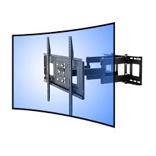 Wall Mount For 48 Inch Tv Amazon Com Fleximounts Cr1 Curved Panel Tv Wall Mount Bracket For