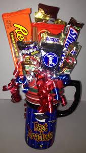 graduation candy bouquet mug candy bouquets pinterest candy