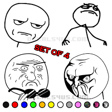 Rage Meme - rage comic meme decals quality affordable vinyl decals