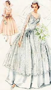 wedding dress version 943 best bridal fashion patterns images on vintage