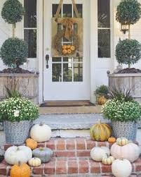 Outside Entryway Decor Fall Porch Decorating Ideas Holiday Pinterest Porch