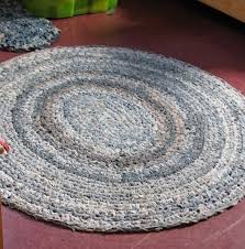 Easy Crochet Oval Rug Pattern 186 Best Tapetes Em Retalhos Rag Rug Images On Pinterest