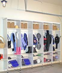 kids sport lockers coat locker system in the garage for the kids sporting equipment