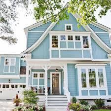 blue house white trim the caramel cottage home tour stephen alexander homes