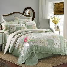 chausub quality cotton patchwork quilt set 4pcs korean style quilts
