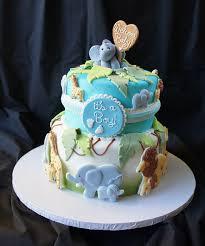 safari baby shower cake jungle theme sugar cookies and boys