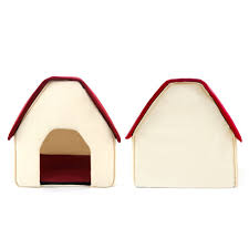 Igloo Dog Houses Amazon Com Pawz Road Pet Dog House Cat Bed For Medium And Small