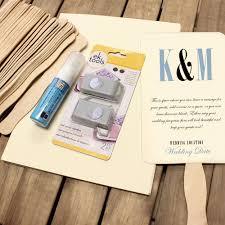 Paper Fan Wedding Programs Wedding Program Fan Paper
