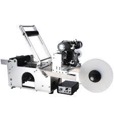manual label applicator machine lt 50d all in one automatic round bottle coding u0026 labeling machine