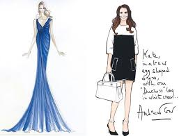 designers from karl lagerfeld to donna karan sketch maternity