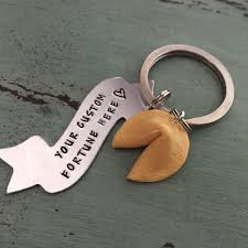 fortune cookie keychain fortune cookie keychain fortune cookie gifts custom fortune