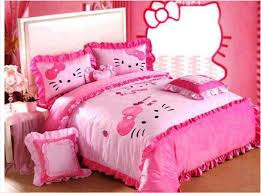 get a chic and feminine look through hello kitty room ideas