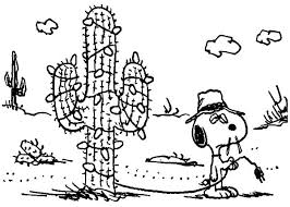snoopy tree snoopy cactus christmas tree coloring pages best place to color