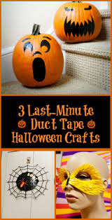 three last minute halloween duct tape projects your kids will love