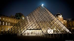 louvre museum at sunset wallpapers paris cityscapes travel louvre museum pyramid 1920x1080 wallpaper