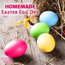 homemade yellow food color dye natural easter egg dye pantry spa