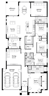 floor plan friday large family home