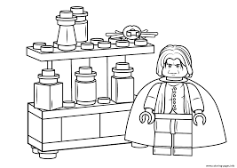 lego harry potter coloring pages lego severus snape harry potter