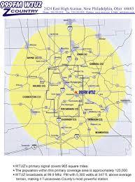 Dover Ohio Map by Station Info Wtuz Com
