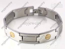 mens clasp bracelet images 2018 30xhigh quality titanium stainless steel mens bracelets clasp jpg
