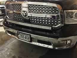 ram 1500 light bar bumper 2015 laramie 42 light bar dodge ram forum dodge truck forums