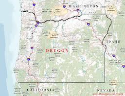 map of oregon oregon maps