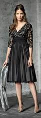 tea length dress for mother of the bride or groom for evening
