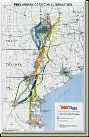 Nuevo Leon Mexico Map by Trans Texas Corridor Map