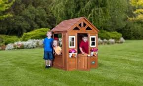 Backyard Playhouse Ideas Backyard Playhouse Playhouse Outdoor Playhouse Plans Canada