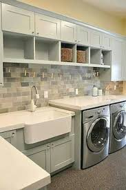 Cabinets For Laundry Room Blue Cabinets Yay Or Nay Laundry Rooms Laundry Room Cabinets