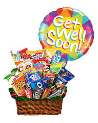 get well soon baskets candy baskets balloons 1 800 balloons