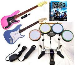 Rock Band Ottoman Rock Band Ps3 Bundle Ebay