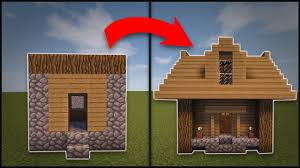 Remodeling A House Minecraft How To Remodel A Village Small House Youtube