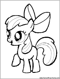 applebloom coloring