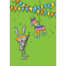 bumblebee pinata piñata birthday card 72 bumblebee