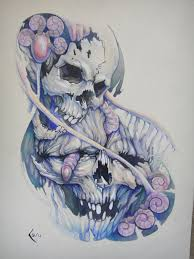 tattoos design on hand biomech horror tattoo design on hand photos pictures and
