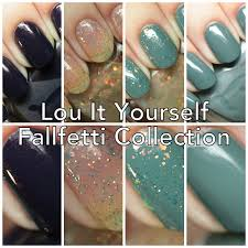 the polished hippy lou it yourself fallfetti collection swatches
