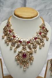necklace jewelry patterns images Latest pachi necklace pinterest indian jewelry jewel and jpg