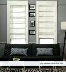 Wood Venetian Blinds Ikea Window Blinds White Wood Window Blinds 1 Faux White Wood Window