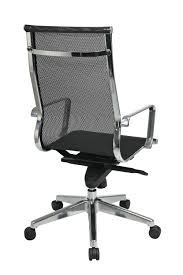 Modern Office Chairs Mesh 7361m Office Star Modern Mid Back Mesh Back And Seat Meeting
