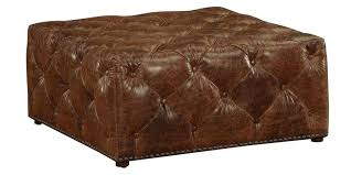 round leather tufted ottoman awesome round leather ottoman coffee table coffee round ottoman