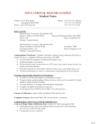 social work resume templates awesome collection of social work resume sle also mental health