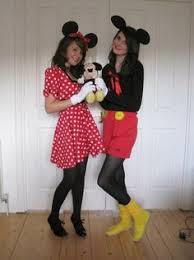 Mickey Halloween Costume Homemade Family Minnie Mickey Mouse Halloween Costume Mickey