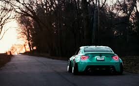 stanced supra wallpaper wallpaper toyota gt86 rear view evening hd picture image